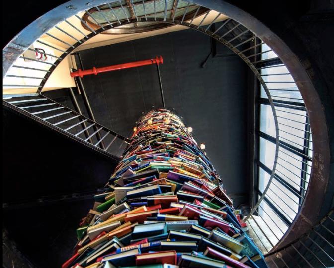 Read a book. Paper Factory Hotel