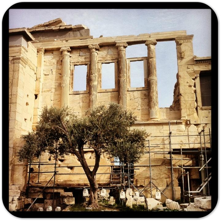 Atop the Acropolis. Photo AG